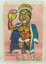 CASSIUS CLAY Muhammad Ali 1967 ORIGINAL BOXING CARD