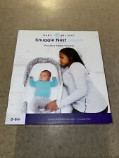 New listing Baby Delight Snuggle Nest Surround Bl, Grey