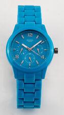 GUESS Damen Uhr Kunststoff blau sehr leicht NEU W11603L5 G2