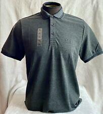Hugo Boss Polo Men 100% cotton Regular fit color Gray Stripe Collar