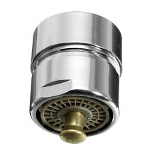 One Touch Control Faucet Aerator Valve Water Saving Brass Tap Nozzle Adapter New