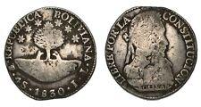BOLIVIA 4 Soles PTS JL 1830