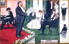 Lance Thackeray/Artist-Signed 1907 Tuck 'Botany' Postcard: 'The Horse Chestnut'