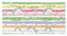 Childrens Unicorn Beach Bath Towel Cotton Bright Super Absorbent Large Girls Boy