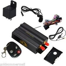 TK103B GPS SMS GPRS Vehicle Tracker Locator Remote Control Alarm Anti-theft