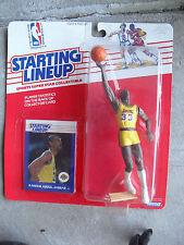 1988 Kenner Starting Lineup Kareem Abdul Jabbar Basketball Figure with Card NIP