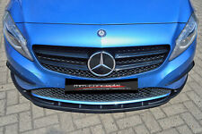 CUP Spoilerlippe für Mercedes A Klasse W176 URBAN Frontspoiler Spoilerschwert