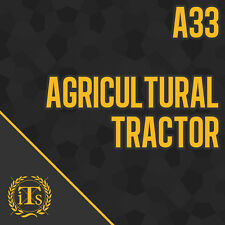 CPCS Theory Test Study Notes for A33 Agricultural Tractor