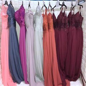 Wholesale Lot of 12pcs Women's Prom Bridesmaid dresses Formal Party Gown dress