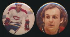 1970's Hockey Pinbacks (Lot of 2 Different) -GUY LaFLEUR (Montreal Canadiens)