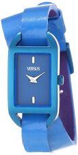 Versus by Versace Women's SGQ030013 Ibiza Royal Blue Aluminum Case Leather Watch