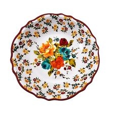 1 NEW PIONEER WOMAN TIMELESS FLORAL MELAMINE BOWL LARGE