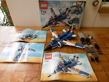 Lego lot Creator (3-en-1) 31008 L'avion de chasse 100% complet