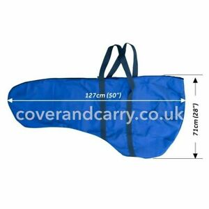 Deluxe Outboard Engine Cover with carry handles upto 15HP (127cm long)