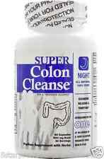 NEW HEALTH PLUS INC SUPER COLON CLEANSE NIGHT HELPS PROMOTE REGULARITY DIGESTIVE