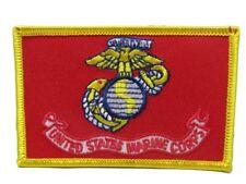 U.S. Military Ega Usmc Marines Marine Corps Flag Iron On Patch