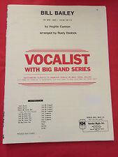 Bill Bailey, arr. Rusty Dedrick, Big Band + Solo Vocal