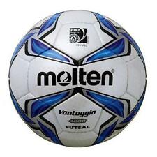 MOLTEN f9v4800 FIFA APPROVATO a basso rimbalzo HAND Stitched Gloss FUTSAL BALL