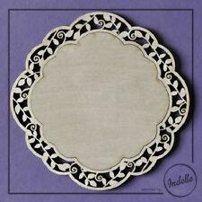 Decorative Frame Plaque 3 mm Wooden Shapes Plywood MDF Craft Blanks