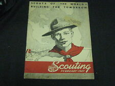 Scouting Magazine Feb. 1947, BP Article, Camp Cookery article   eb13