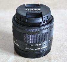 CANON EF-M 15-45mm F3.5-6.3 IS STM Lens for CANON EOS M, M2, M3, M5, M6, M10