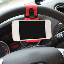 Universal Handy KFZ Auto Lenkrad Halter Halterung Für Handy Unterstützung Klemme