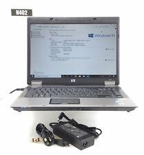 HP COMPAQ 6730B INTEL CORE 2 DUO P8600 4GB RAM 250GB HDD WIN 10 PRO H402