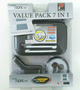 ACCESSORIES NINTENDO DS Lite BLK CASE Car Charger SCREEN GUARDS Ear Buds STYLUS