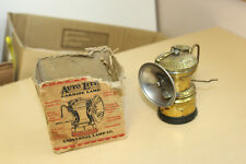 Antique Auto Lite Carbide Lamp for Mining/Miner etc. with Original Box