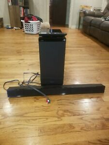 USED Sony SA-WT150 Subwoofer/Sony SS-CT150 Speaker System with Remote Control