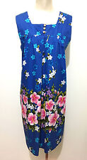 HAWAII VINTAGE '60 UI MAIKAI Abito Vestito Donna Flower Woman Dress Sz.L - 46