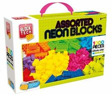 1000 Pieces Block Tech Neon Assorted Building Blocks Bricks