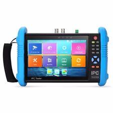 7 inch IPS Touch Screen H.265 4K IPC-9800 Plus CCTV CVBS Analog IP Camera Tester