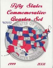 Coin Collecting Folder 50 State Quarters Date Set 1999 2008 Young Collector Gift