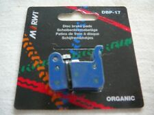 MARWI UNION ORGANIC DISC BRAKE PADS SHIMANO XTR M965/66 CALIPERS 1+1 FREE DBP-17