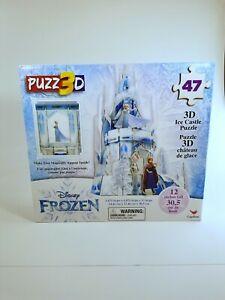 Disney Frozen 3D Elsa Hologram Ice Castle Puzzle 47 Pieces 12 in Tall Ages 3+