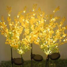 2X Solar Power Flower LED Light Outdoor Yard Lawn Landscape Lamp Exclusive Garde