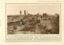 1915 Paris Air-RAID Batteria dumba giornalista