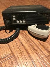 Motorola Radius 16 channel 50 watt Vhf two way Mobile radio with accessories