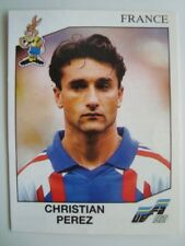 No.53 Christian Perez (FRANCE) - 1992 Panini EURO 92 EM EURO CUP Original New