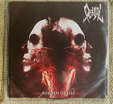 Denial - Burden of Lies - - CD PROMO DEATH METAL