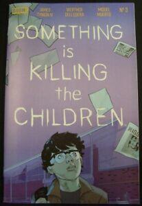 SOMETHING IS KILLING THE CHILDREN 3 BOOM TYNION IV DELL'EDERA MUERTO 2020 NM