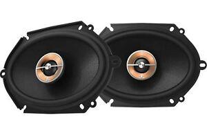 "Infinity KAPPA 86CFX 6x8"" 2-Way Car Speakers 300 Watts 100 Watts Rms 2.5 Ohms"