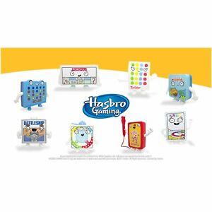 2021 McDonald's Hasbro Gaming Mini Travel Games Toys Drop Down Menu Select Mint