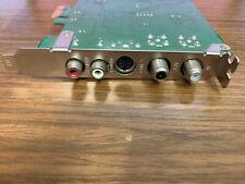 AVERMEDIA M791-A TV TUNER VIDEO CAPTURE DESKTOP PC PCI-EXPRESS CARD