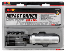 """3/8"""" Drive IMPACT DRIVER Screwdriver w/ 4 bits PERFORMANCE TOOL by WILMAR W2500P"""