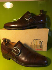 Vintage Churchs 'Canon' Bookbinder Monk Strap Shoes 10 B + Original Box!