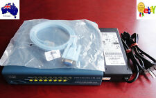 Cisco ASA 5505 V08, Unlimited users, Security Plus Lic. asa9.22 w/ PS, 1 Yr Wty.
