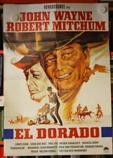 EL DORADO - Filmplakat Poster JOHN WAYNE Howard Hawks ROBERT MITCHUM 1966 EA