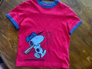 hanna andersson 120 boys red snoopy T-Shirt